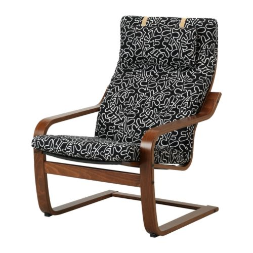 Attirant Ikea Poang Chair And Ottoman