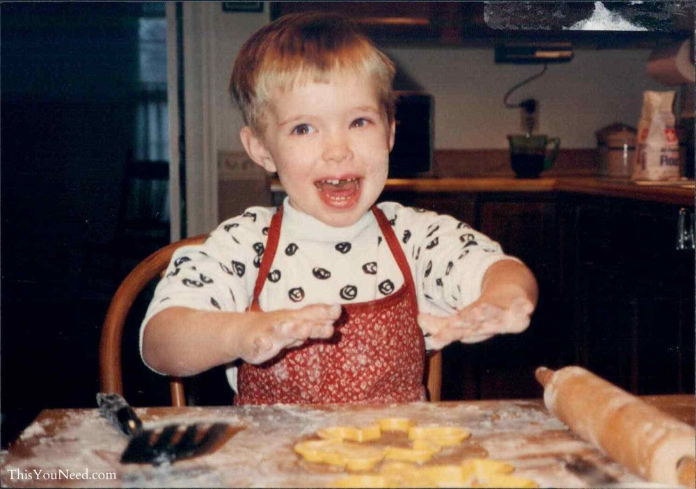 1990 Baking Christmas Cookies copy.jpg