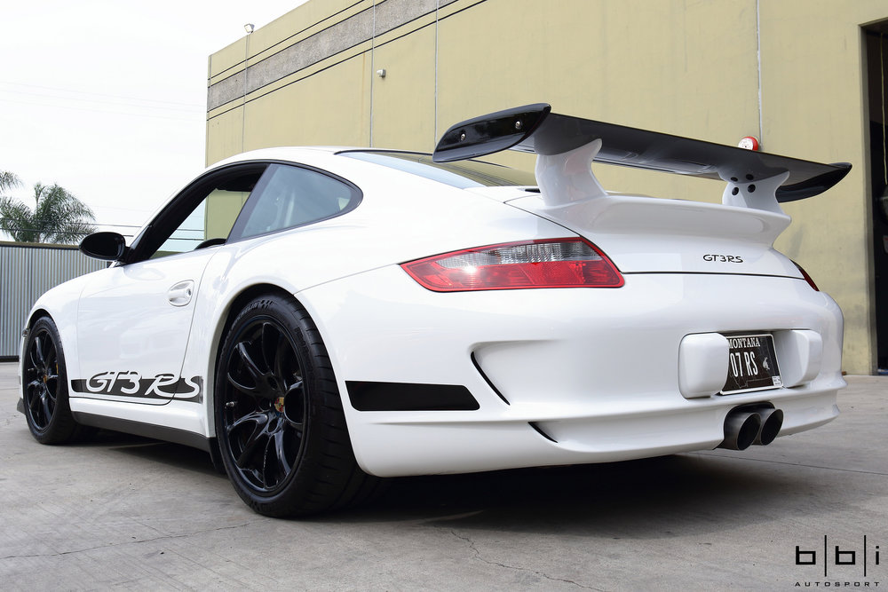 997 GT3 StreetCup Exhaust Center