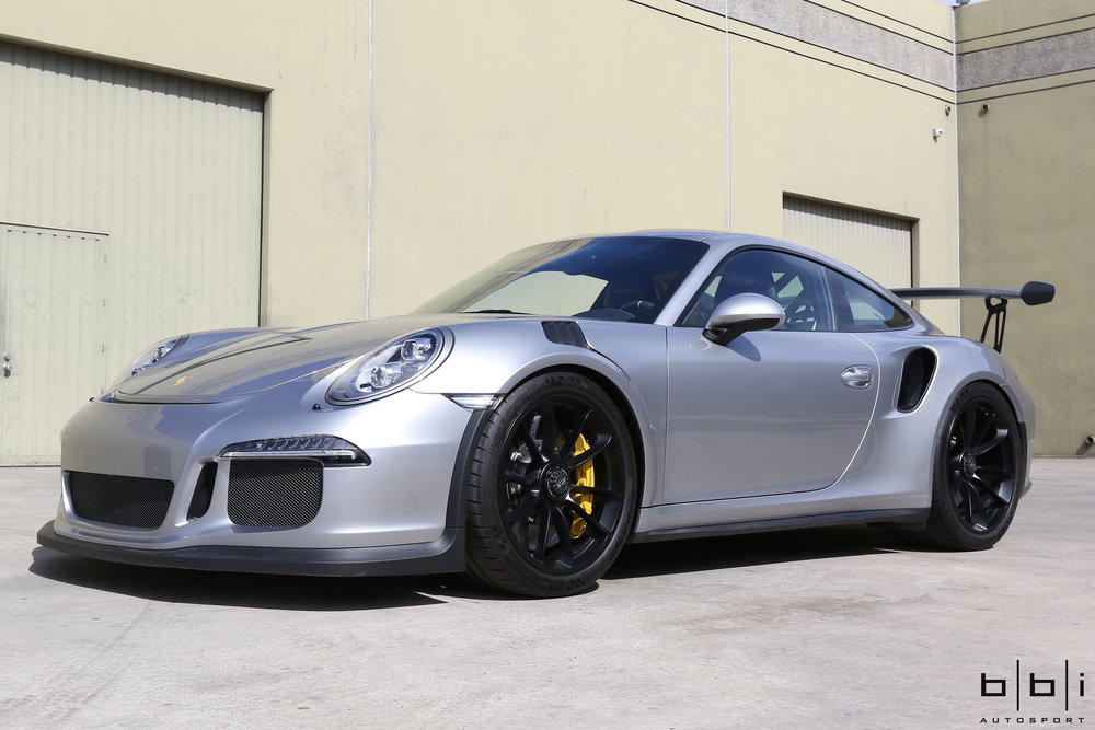 BBi Porsche 991 GT3 Street Cup Spring Upgrade Package