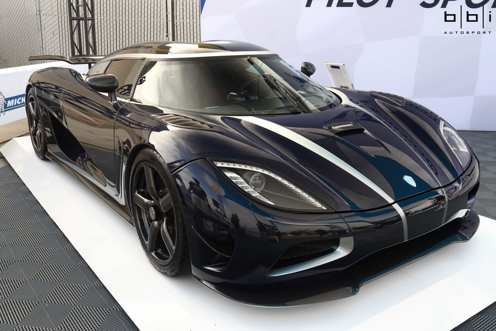 Koenigsegg Agera R. Produced between 2011 and 2014, only 18 were produced during that time.