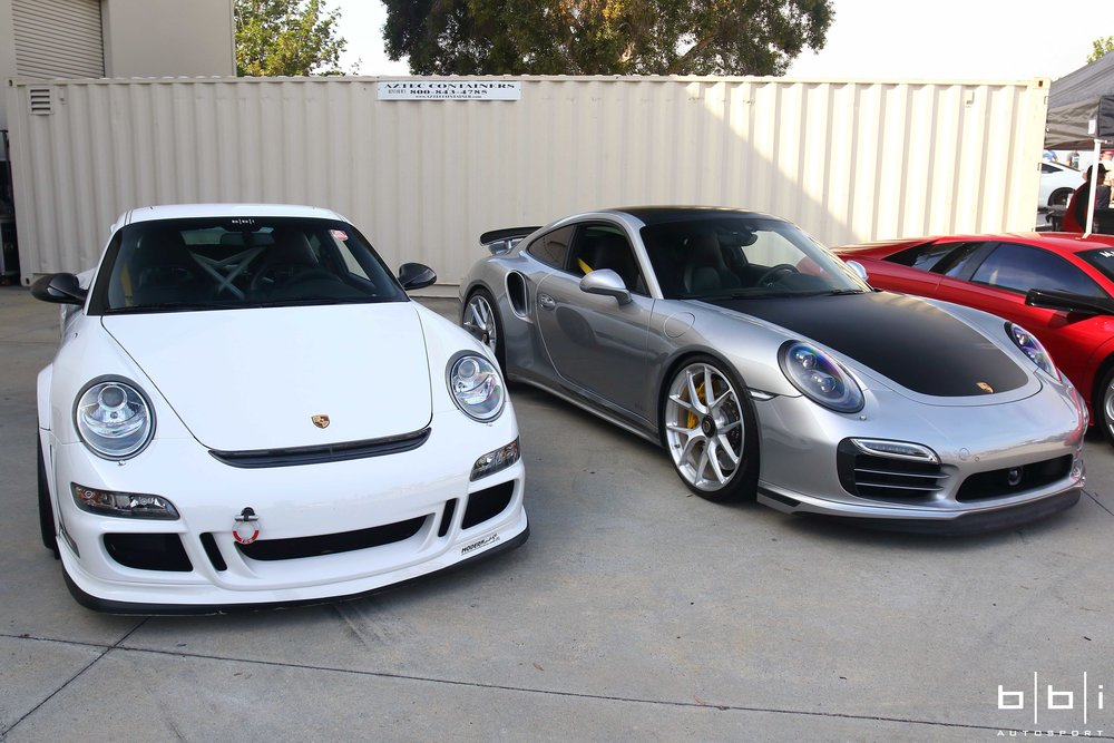 Steve's BBi Autosport Project Bull Dog Porsche 997.1 GT3 and 991 Turbo with Stage 2 Power Package