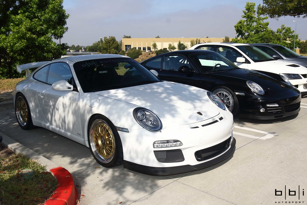 Ali's Porsche 997.2 GT3 & 997.2 Turbo 6 Speed BBi StreetCup Builds, Both on BBS Wheels