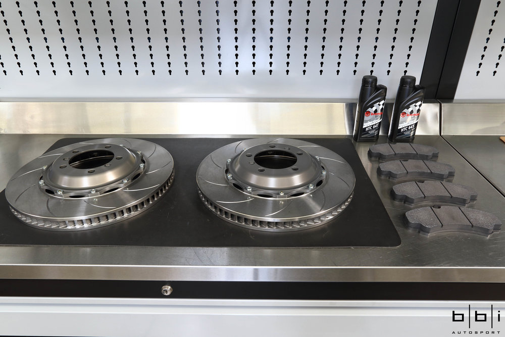 Front Brembo Type V (Endurance Face Type)Brembo Discs