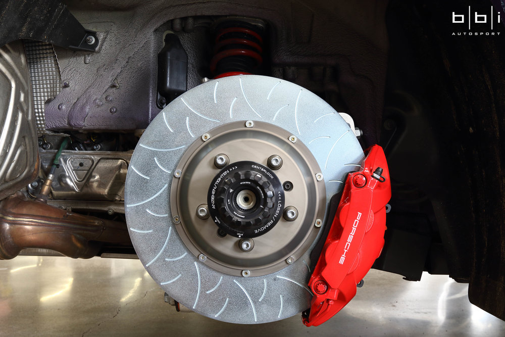 Rear Brakes Installed