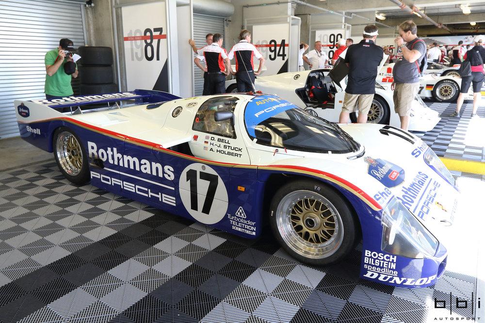 1987 Porsche #17 Racing Porsche AG 962c