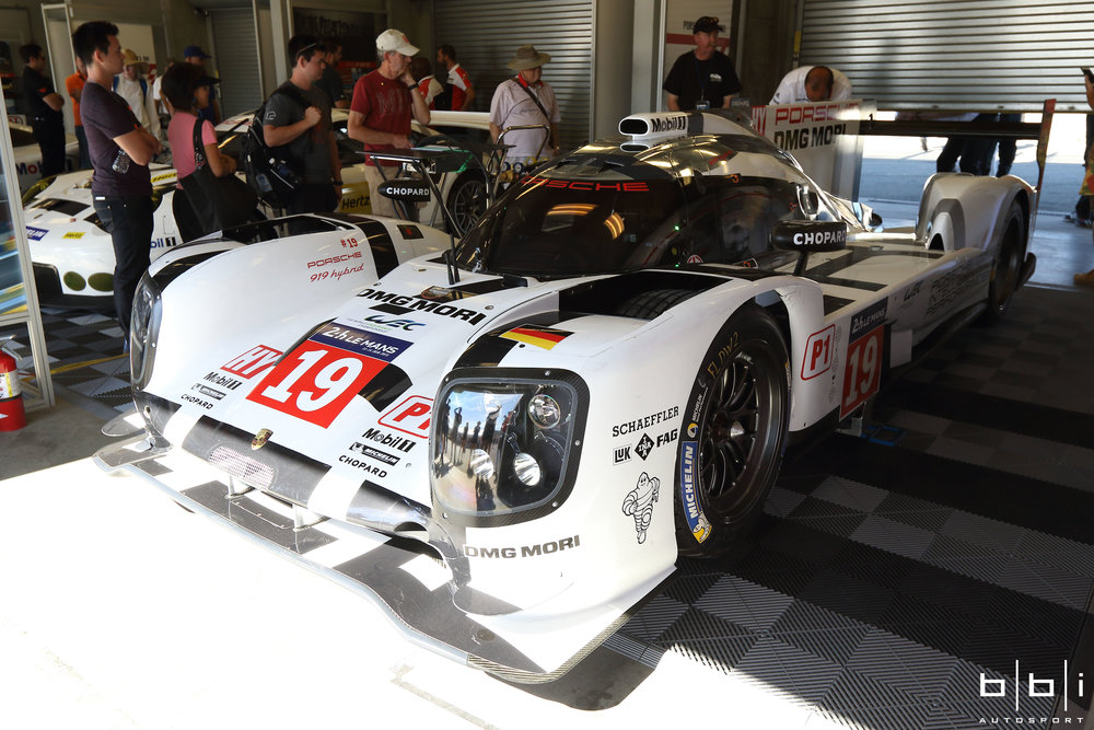 919 #19 car driven by Earl Bamber, Nico Hülkenberg, and Nick Tandy