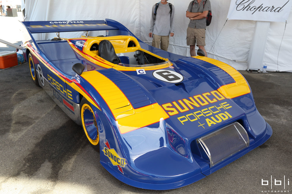 Known as the car that killed Can-Am racing, the Porsche 917/30 was the most powerful and terrifying sports car racer ever built and raced as it was capable of producing 1,580 bhp with it's 5.374 litre 12 cylinder engine while tipping the scales only 1,800 lbs.