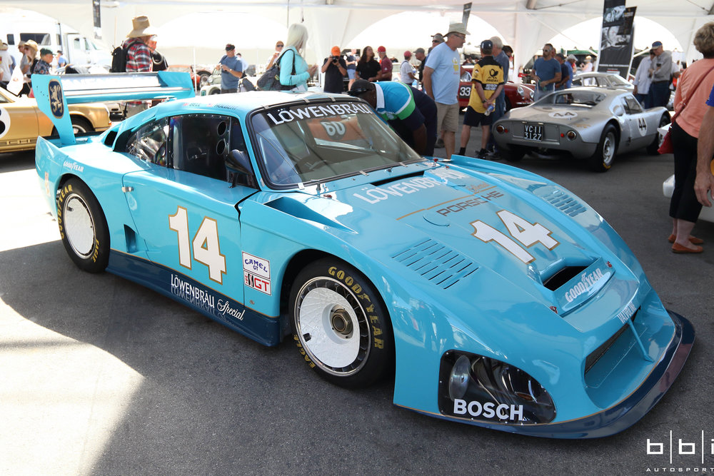 Known as the king of 935s, 1981 Kremer Lowenbrau Porsche 935 K4 IMSA GTP. 1 of 2 Built and restored by Canepa.