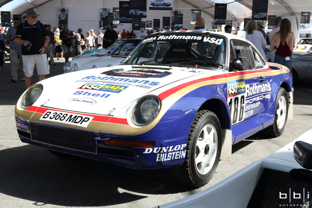 #186 1986 Porsche 959/50 Dakar Rally Raid Winner