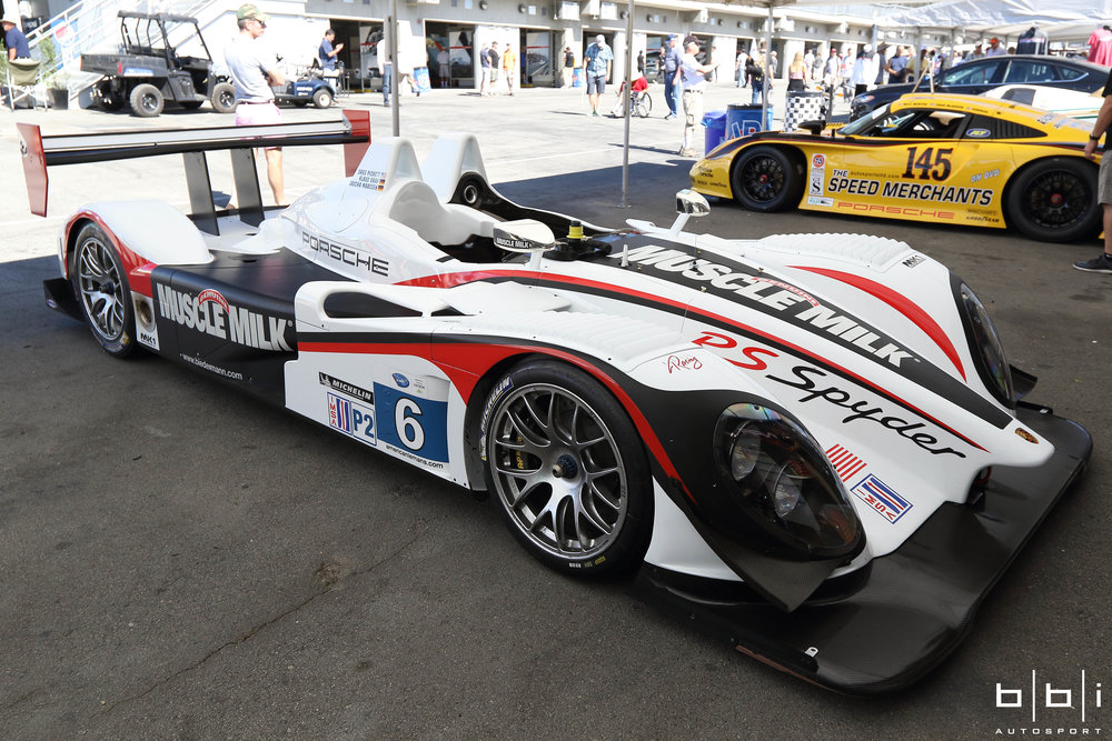 Muscle Milk Team Cytosport Porsche RS Spyder Evo. Sebring LMP2 class winner.