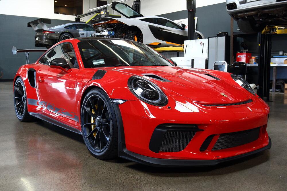 Guards Red Porsche 991 2 Gt3 Rs Sparco Qrt Seat Bbi Autosport Base Slider Kit Install Bbi Autosport