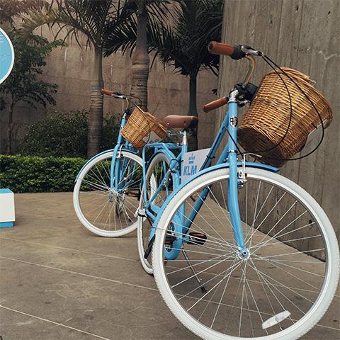 KLM Bike Path