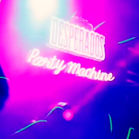 Desperados Party Machine Curitiba