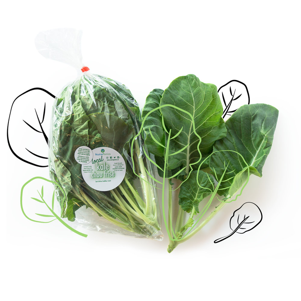 kale - Crunchy but tender!