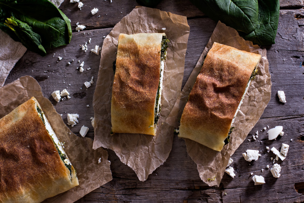 Spanakopita - with NutraPonics Spinach