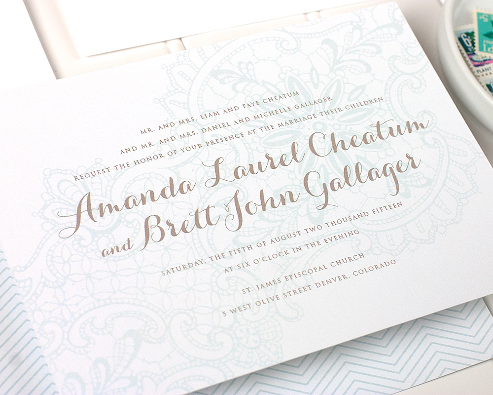 Lorelei Wedding Invitation