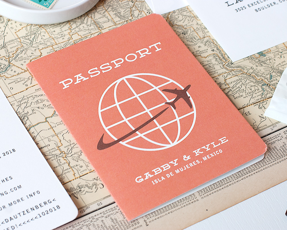 Passport Save the Date