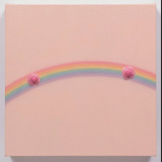 Been thinking a lot about Sex and Art. It's the subject of a new podcast  I'm working on for SFMOMA's Raw Material series . This Linda Stark painting is quite satisfying! More MàM eps are on the way too!!!