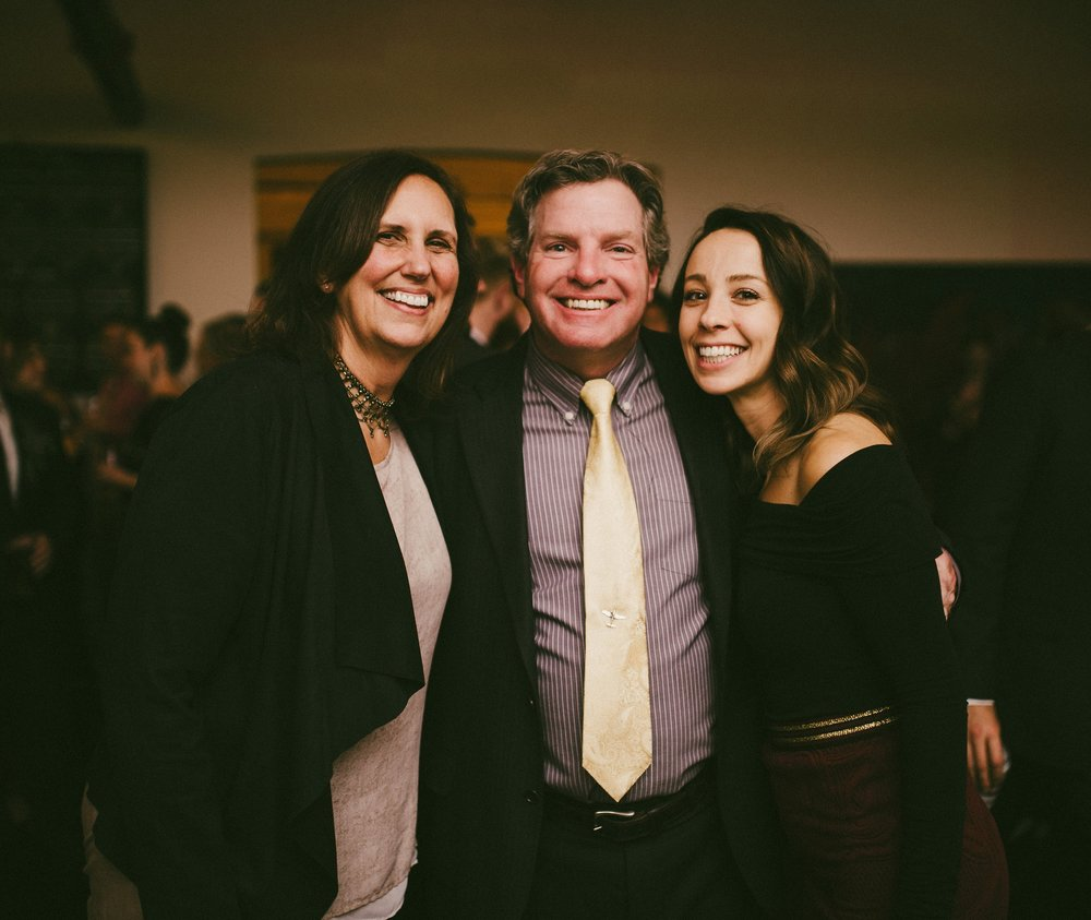 Co-Owners, Dave and Luanne Mansfield and Erica Paolicelli