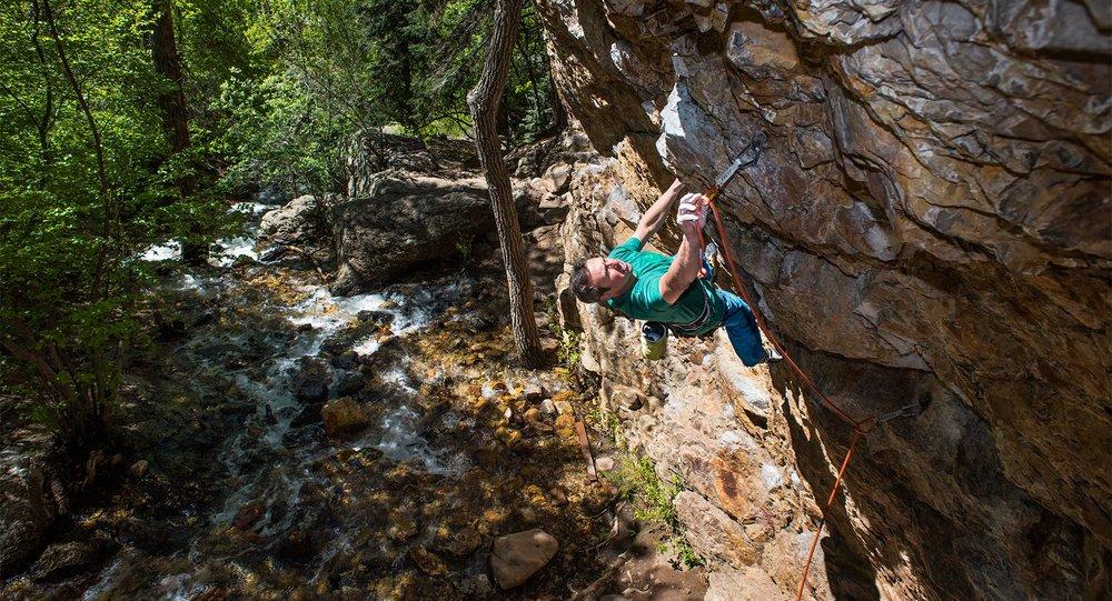 Alex Lemieux Climbing