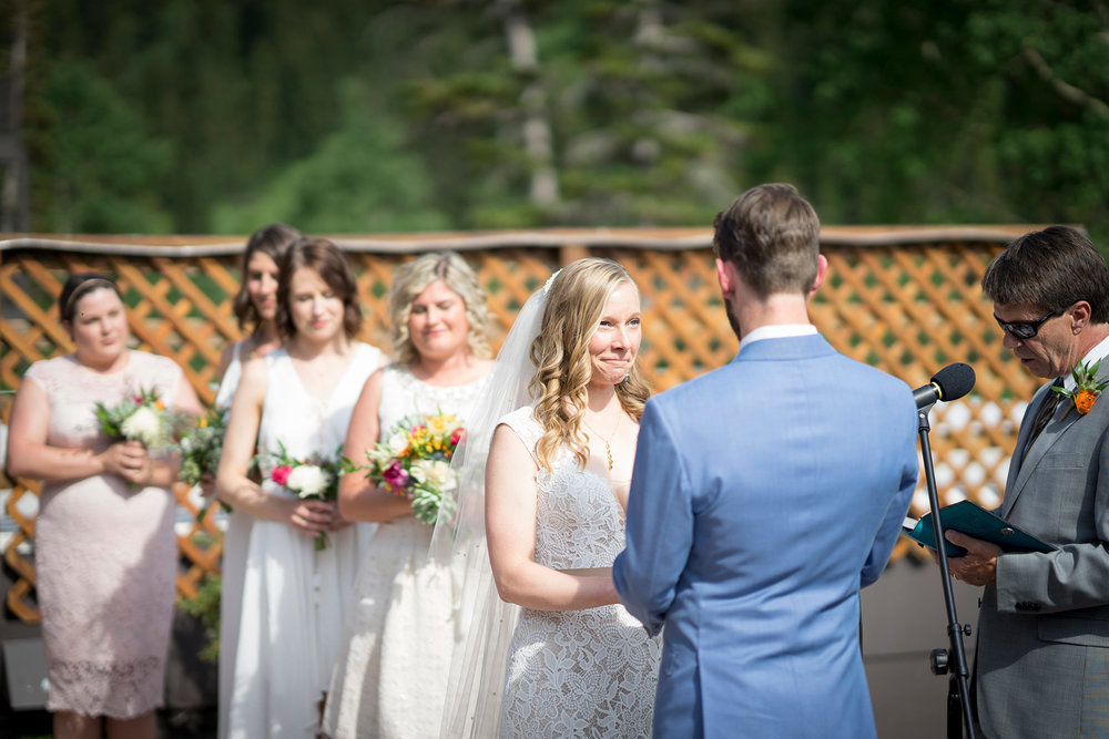 Ceremony at Alta Lodge