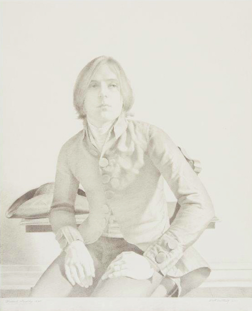Scott Gentling  Michael Findlay  1969, graphite on paper.  Amon Carter Museum of American Art, Fort Worth, Texas