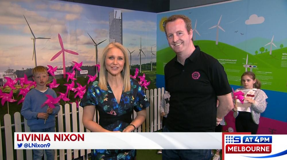 Powershop Australia CEO Ed McManus interviewed on Channel Nine News.