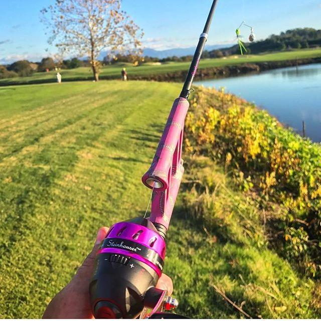 Fishing in the Smokey Mountains with @baileybfishing and the Steinhauser No-Tangle Pocket Combo! #steinhauser #fishing #notangle #notangler #bassfishing #smokeymountains #angler