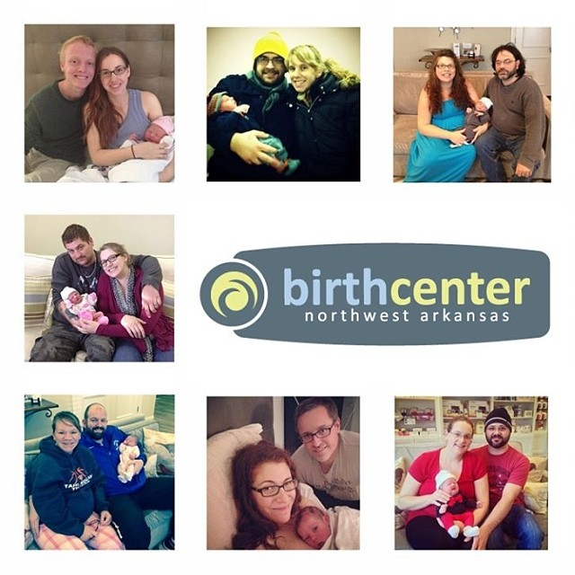 We 💚 our families! #birthcenter #RogersAR #northwestarkansas