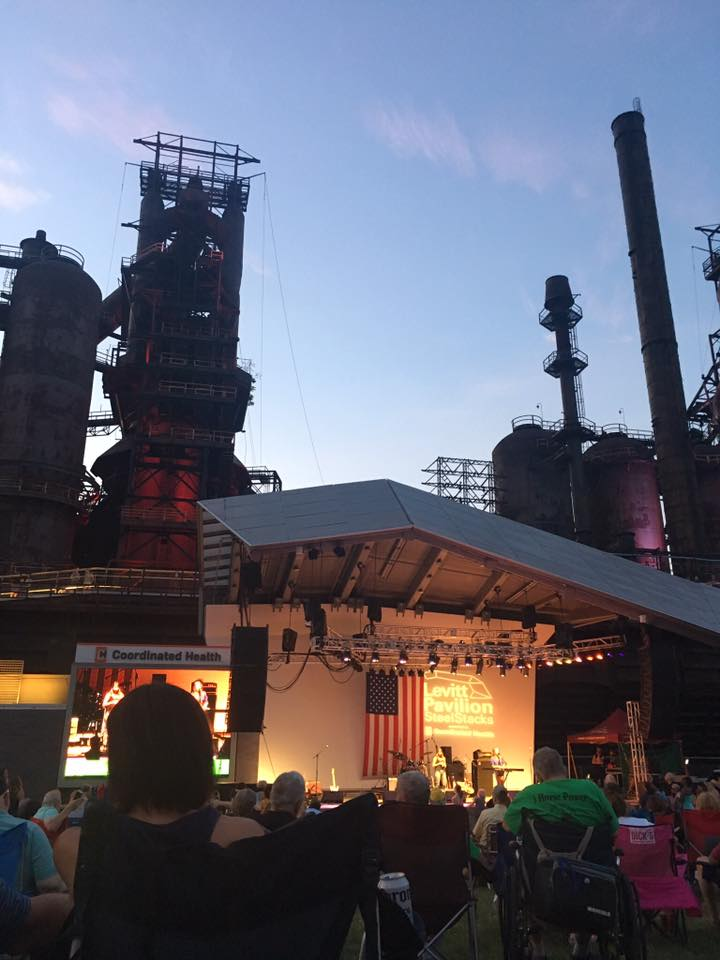 I love a good outdoor concert at Steelstacks - they have 2 free outdoor stages and then a paid, indoor stage. I met Andrew McMahon from Jack's Mannequin there after an incredible concert. Super cool venue, indoors and out.