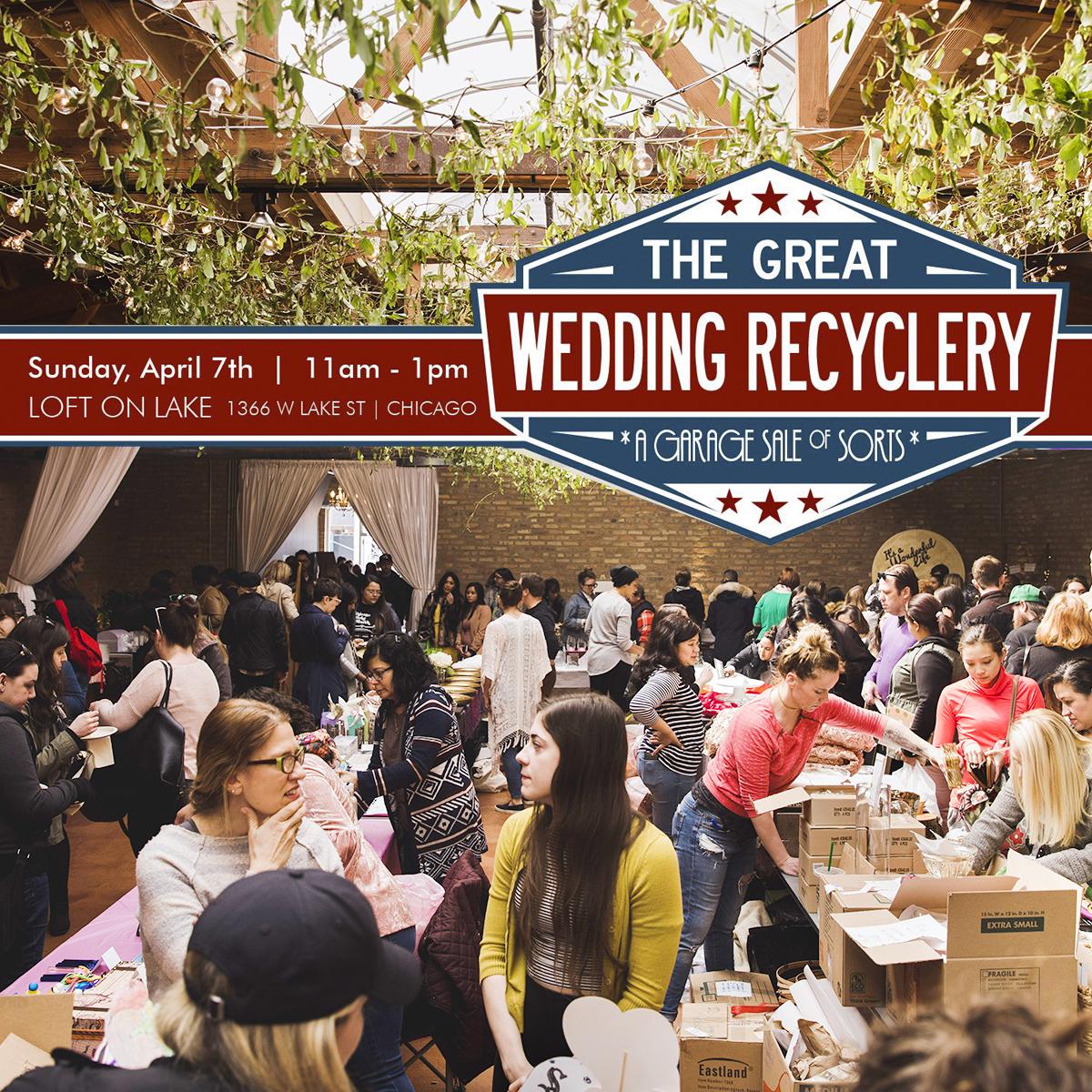 Wedding Garage Sale.Attend The Great Wedding Recyclery The Annual Wedding Garage Sale