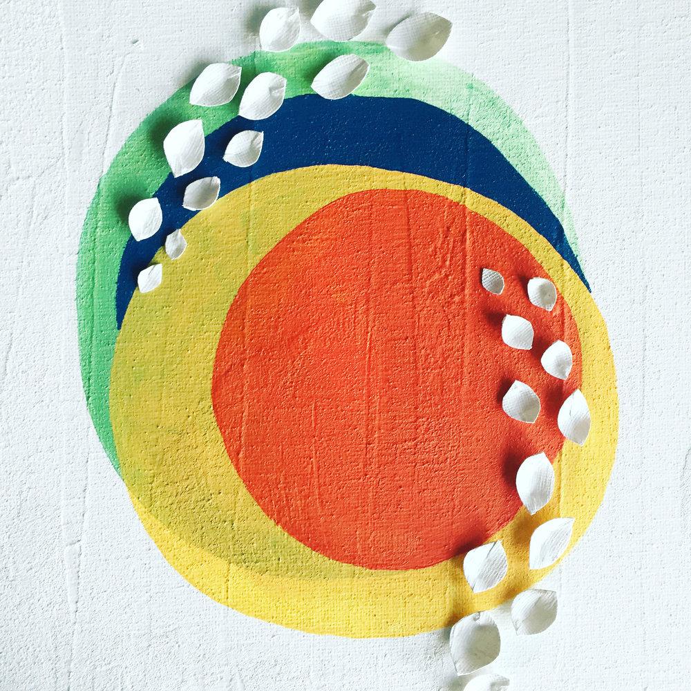 Outlook   12x12, Acrylic on Canvas