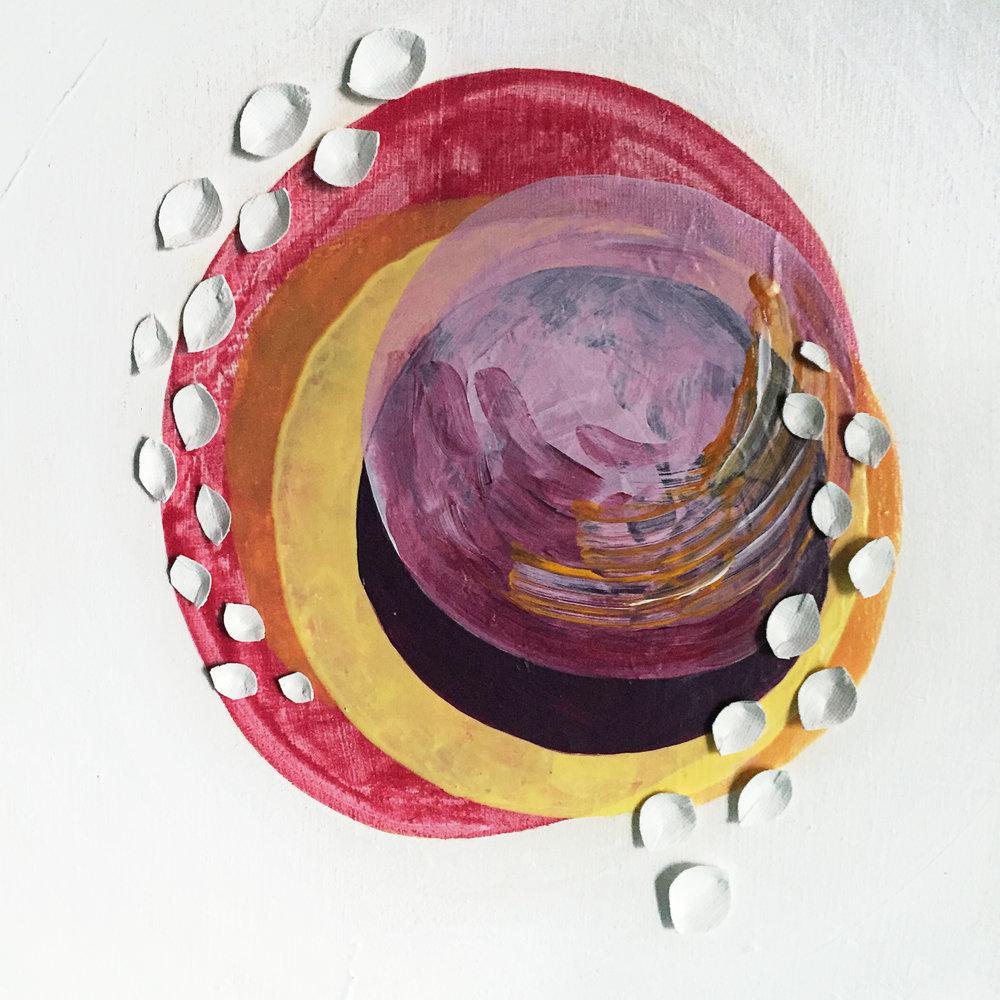 Moment   12x12, Acrylic on Canvas