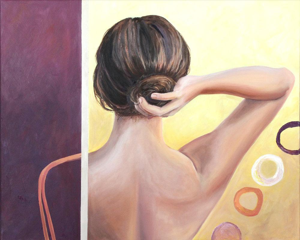 Alanna Ready   18x36'', Oil on Canvas