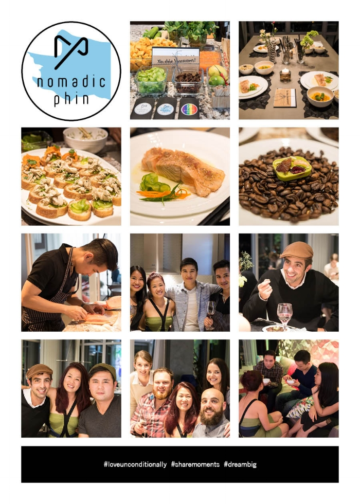 Vision - A movement of making connection and changing the world's perception about Vietnamese cuisine by hosting a unique collective dining experience around the world. A global concept to offer Nomadic Phin to the world and to stand together with the universal values in all life perspectives.
