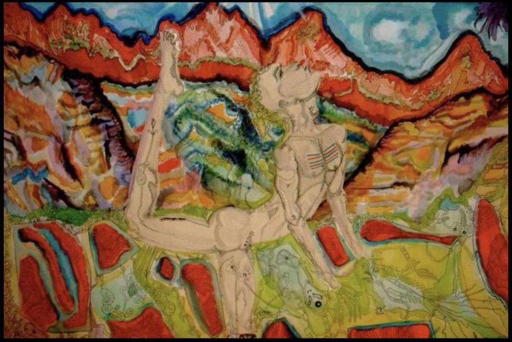 Colorado, watercolor on cold press, 2010