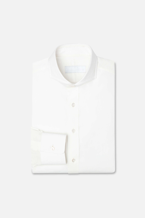 The Sami - Bespoke shirt made to order. The shirt is made with the finest fabrics and uses the highest quality stitching techniques.