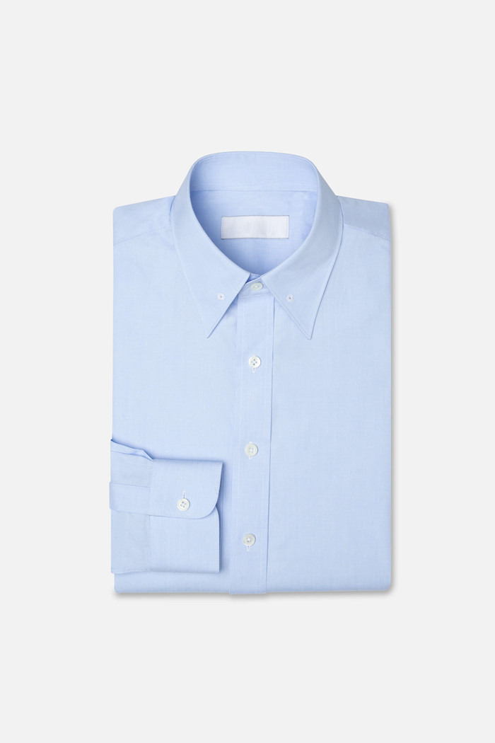 The Kris - Bespoke shirt made to order. The shirt is made with the finest fabrics and uses the highest quality stitching techniques.