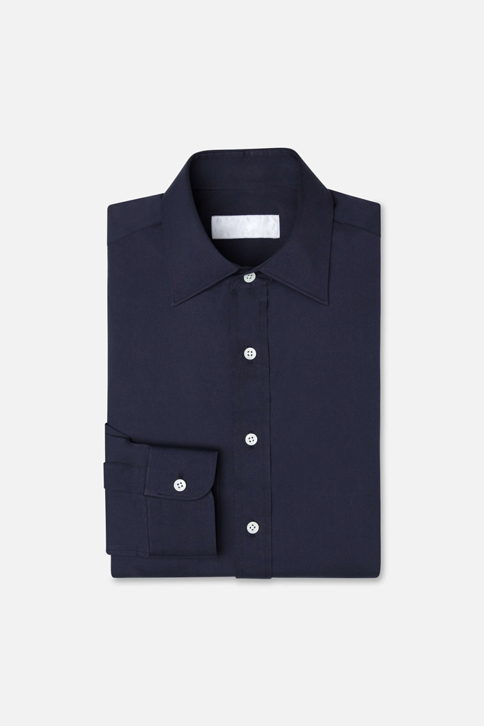 The Josh - Bespoke shirt made to order. The shirt is made with the finest fabrics and uses the highest quality stitching techniques.