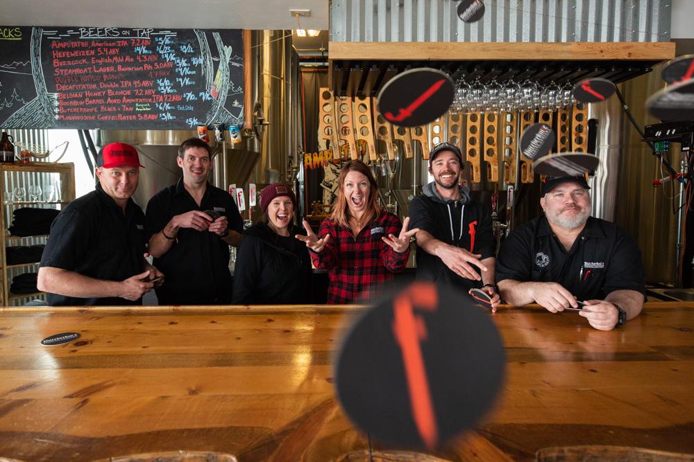 butcherknife brewing team steamboat springs colorado