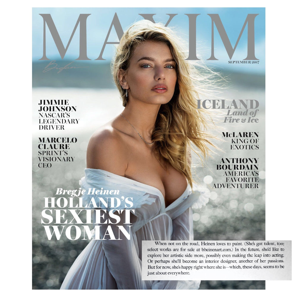 maxim september issue 2017