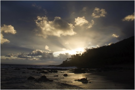 [Sunrise on my Mother's Island, Alablat]