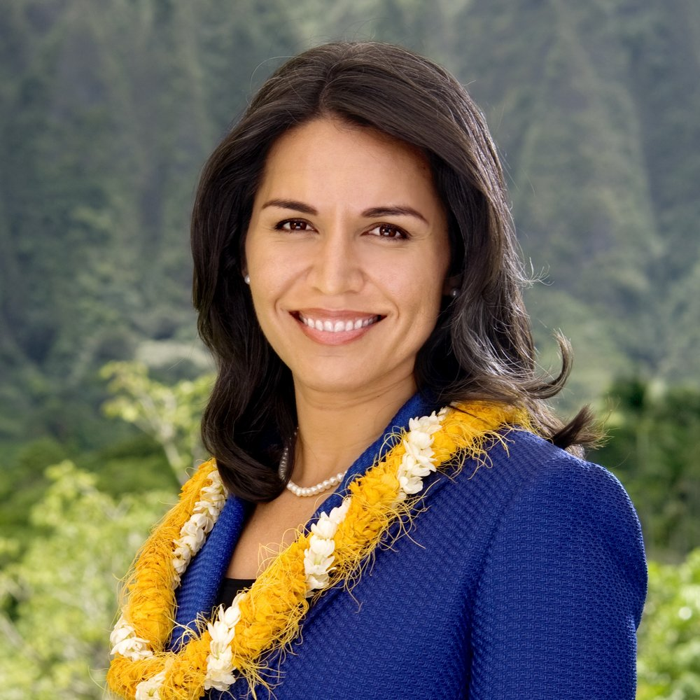 Rep. Tulsi Gabbard Official Photo