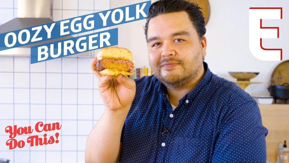 Clifford Endo Egg Yolk Burger