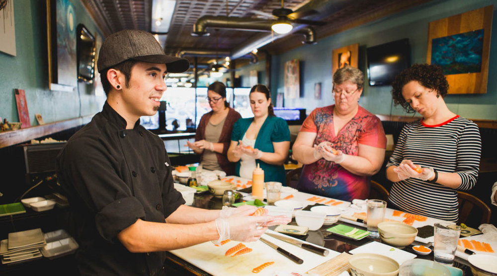 The Secrets of Sushi with Bryan Sekine - By Melissa Slaughter