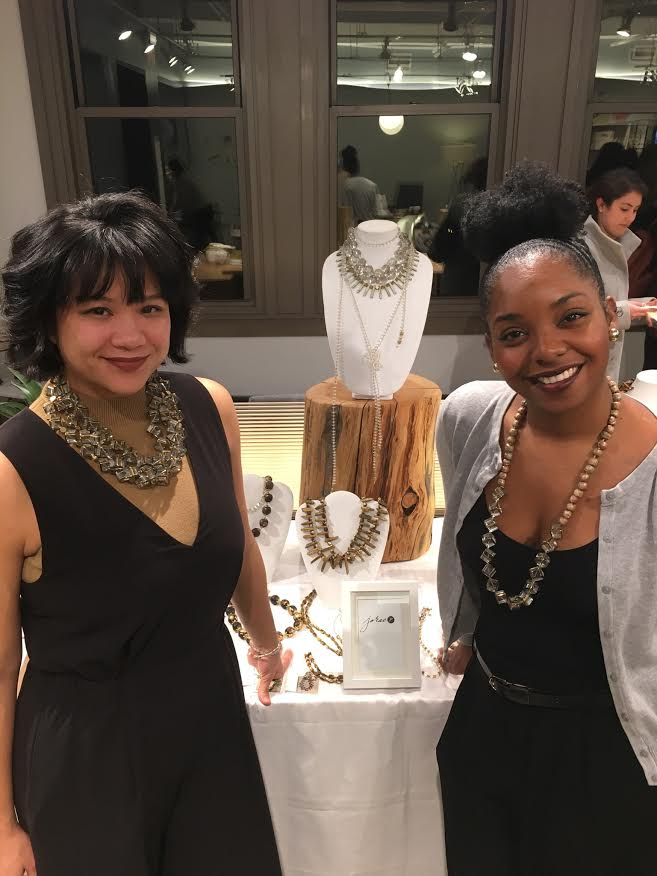 Rae and Jo at Pop Up