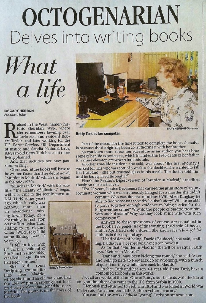 Betty in Rio Rancho Observer..jpg
