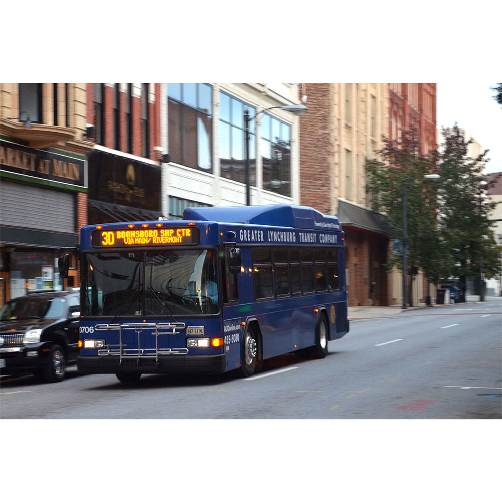 Public Transit/Bus Station - Lynchburg has both a public transit system and a bus station. Both are accessible to all areas of the city. The location of the bus station is close to Downtown and gives residents options to get around easily.