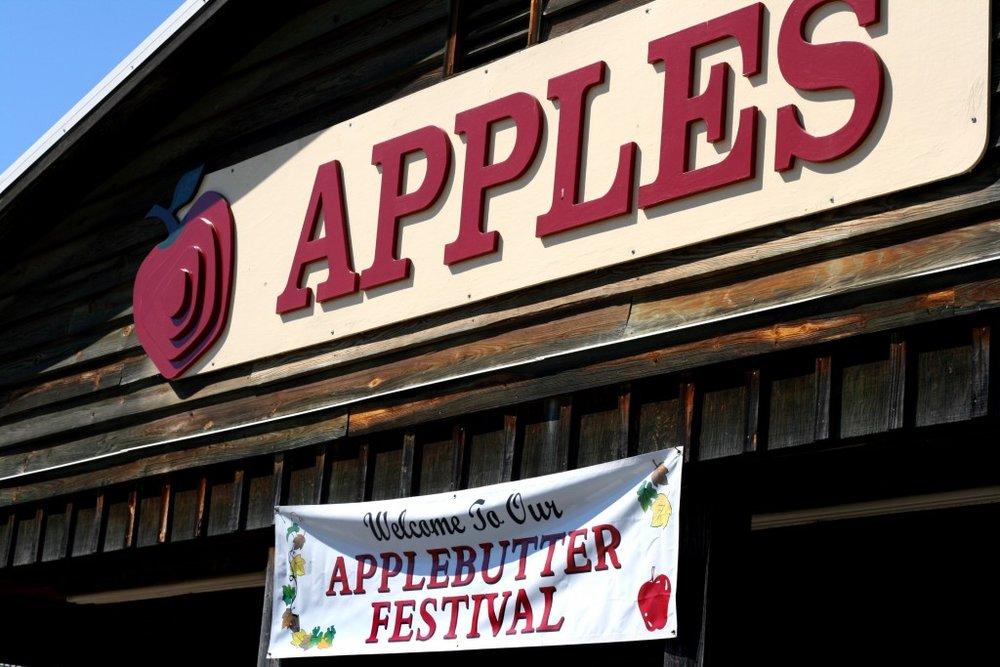 APPLE BUTTER MAKIN FESTIVAL  Oct. 7 & 21